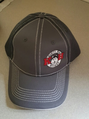 Kents Hill Hockey Baseball Cap by D R Designs, LLC.