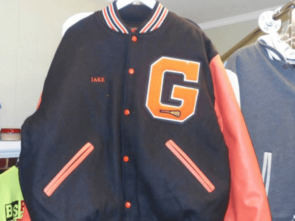 Gardner letter jacket by D R Designs, LLC.