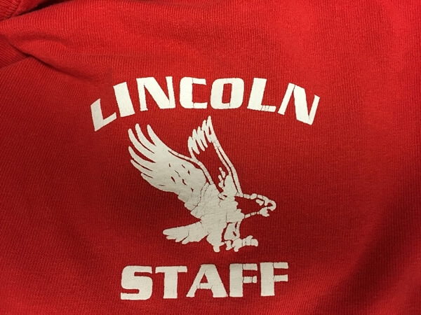 Lincoln staff shirt by D R Designs, LLC.