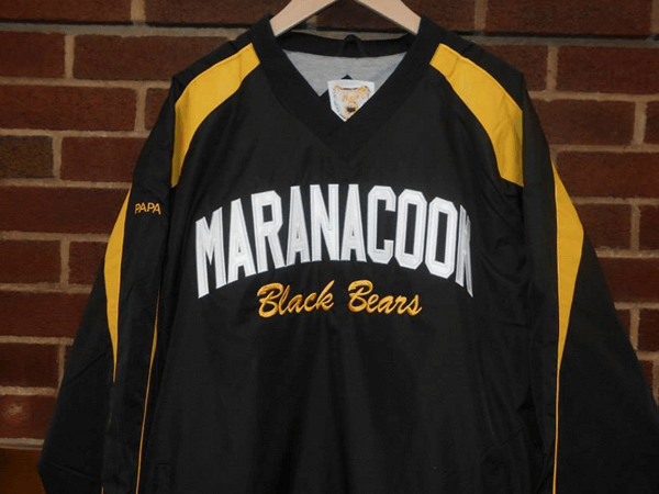 Maranacook Black Bears shirt by by D R Designs, LLC.