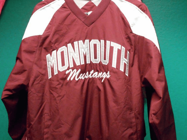 Monmouth Academy Mustangs shirt by D R Designs, LLC.