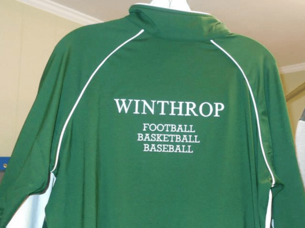 Winthrop Football, Basketball & Baseball Jacket by D R Designs, LLC.
