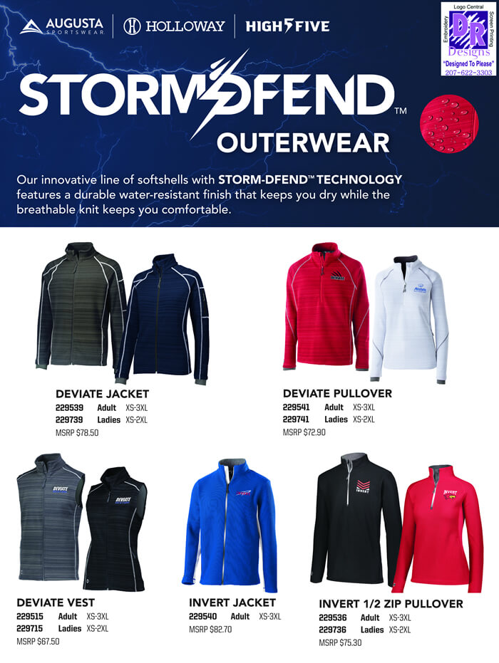 Storm-Dfend will keep you warm this fall.
