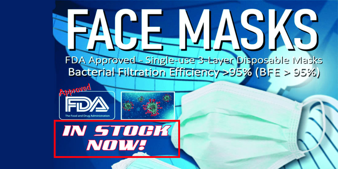 Quality face masks are available at D R Designs