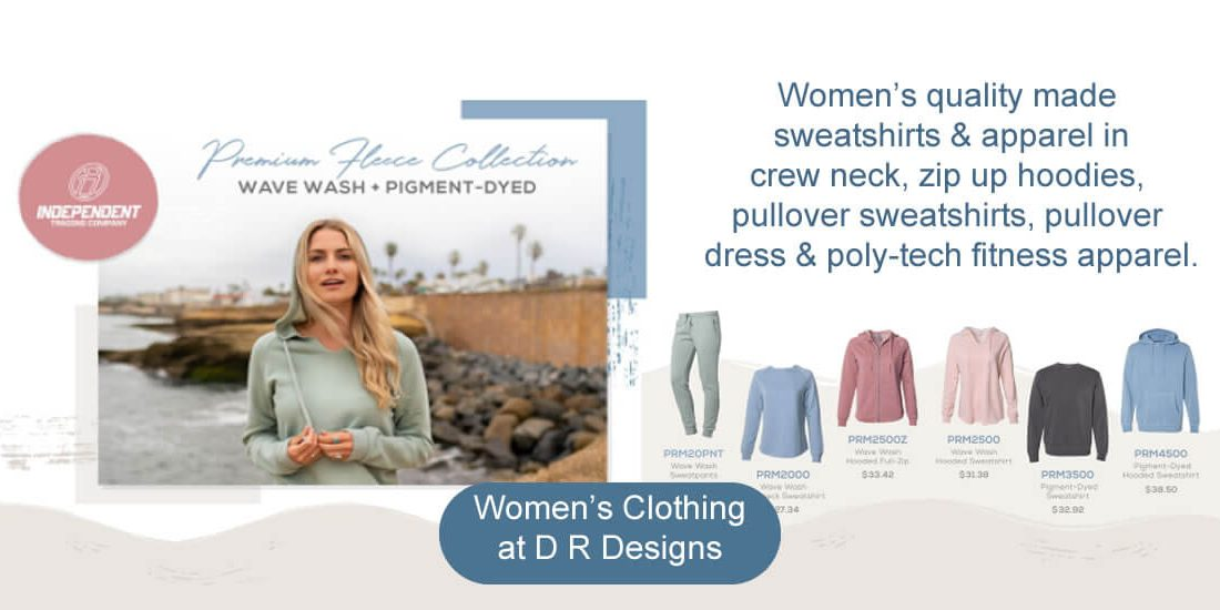 Women's clothing at D R Designs.